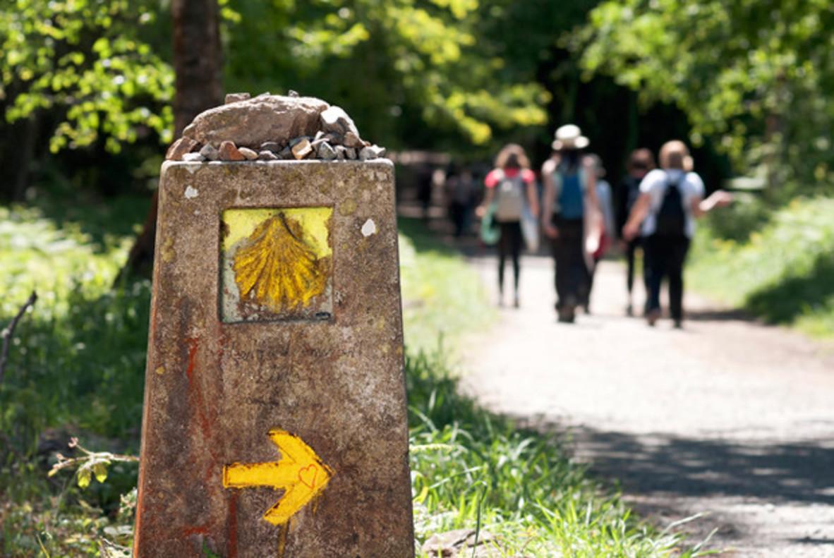 El estudio quiere comprobar los efectos que tiene hacer el Camino de Santiago sobre la salud mental y la felicidad