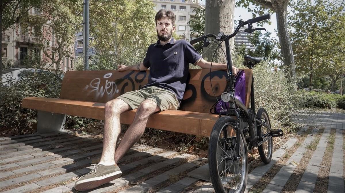 Gabriel Ubieto, de 24 años, mileurista.