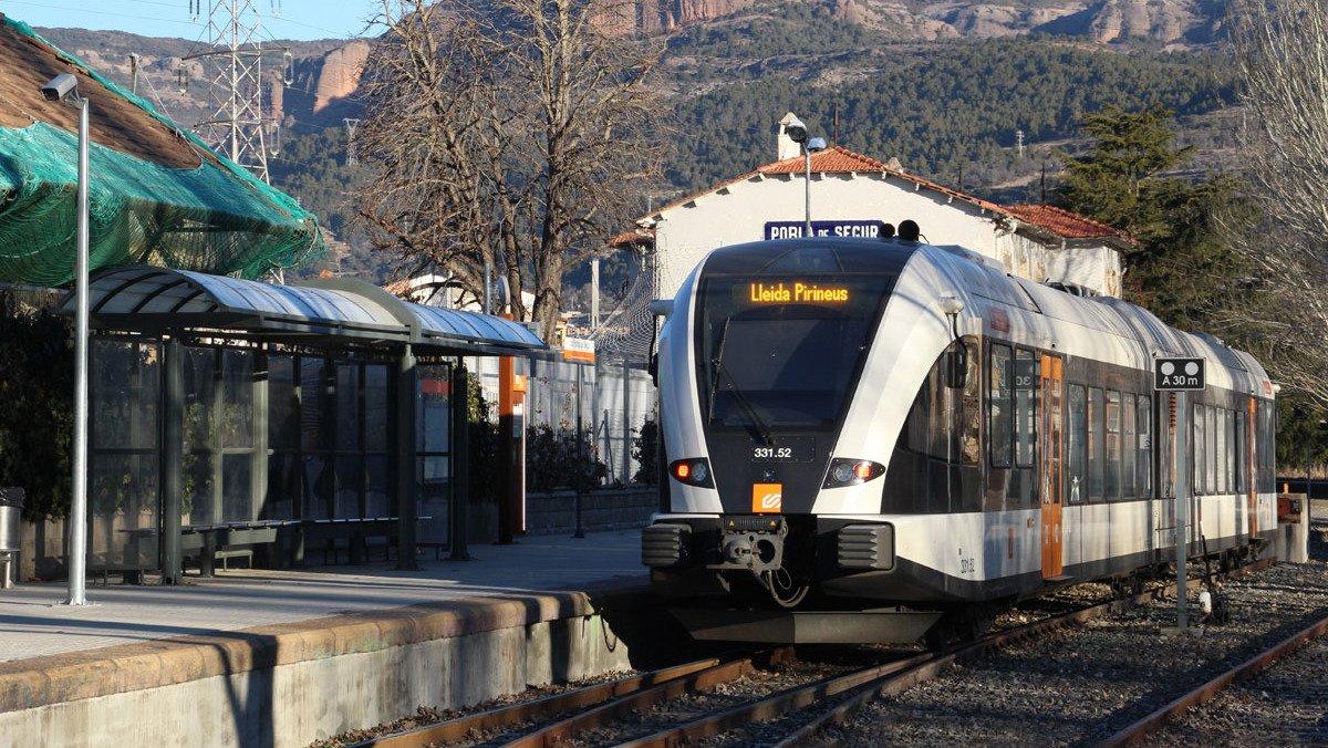 Trens sense maquinistes a Lleida