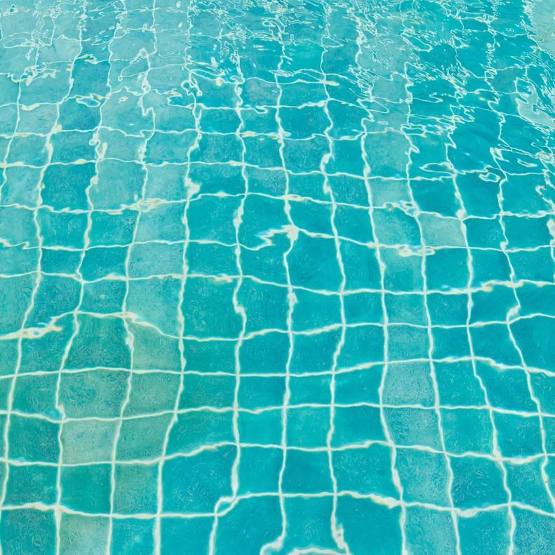 El fondo de una piscina, en una imagen de archivo.