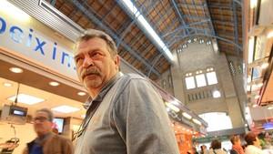 Francesc Leyva, presidente del mercado de Sants.
