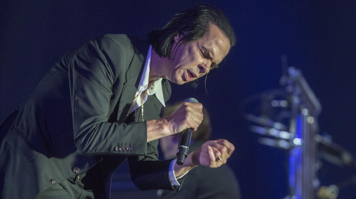 Concierto de Nick Cave en el Primavera Sound, en la madrugada del jueves al viernes.
