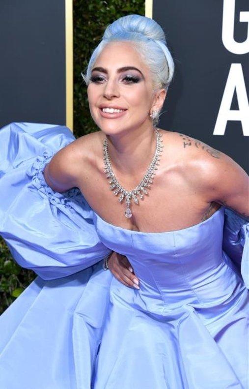El collar de Lady Gaga, de Tiffany's, valorado en casi 5millones de euros.
