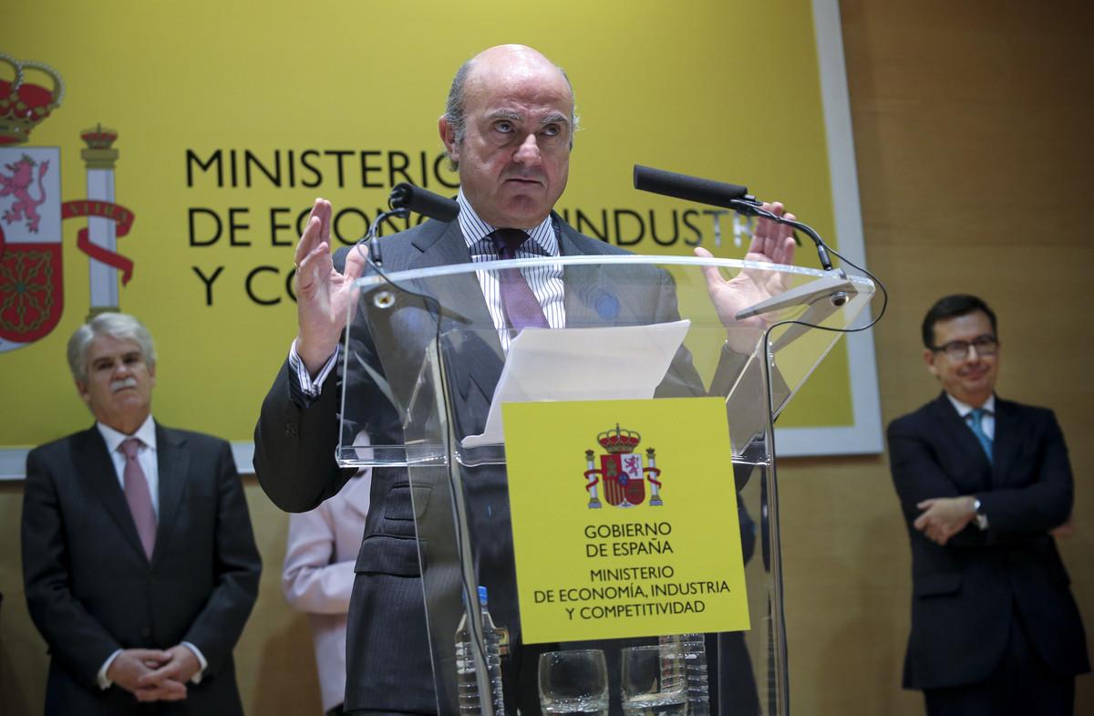 Guindos ha descartado que la entrada de las grandes empresas tecnológicas comoGoogleoAmazonen el sector financiero suponga un peligro.