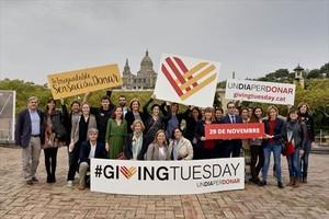 Hace dos años, Giving Tuesday recaudó más de 400.000 euros.