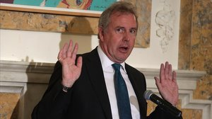 El hasta ahora embajador británico en EEUU, Kim Darroch.