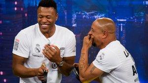 'El hormiguero': el ataque de risa de Baptista y Roberto Carlos al imitar a Florentino Pérez