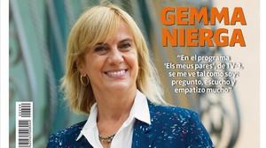 Gemma Nierga conjuga el verb escoltar a TV-3