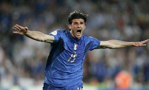 Iaquinta, con la selección italiana.