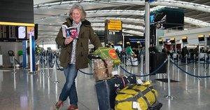 James May, preparado para su viaje a Japón.