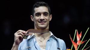 Javier Fernández consigue su cuarto oro
