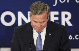 Jeb Bush anuncia que se retira de las primarias del Partido Republicano.