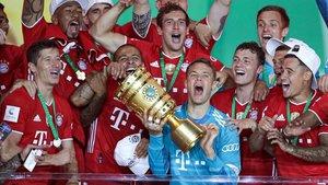 El Bayern guanya la Copa, segella el doblet i apunta a la Champions