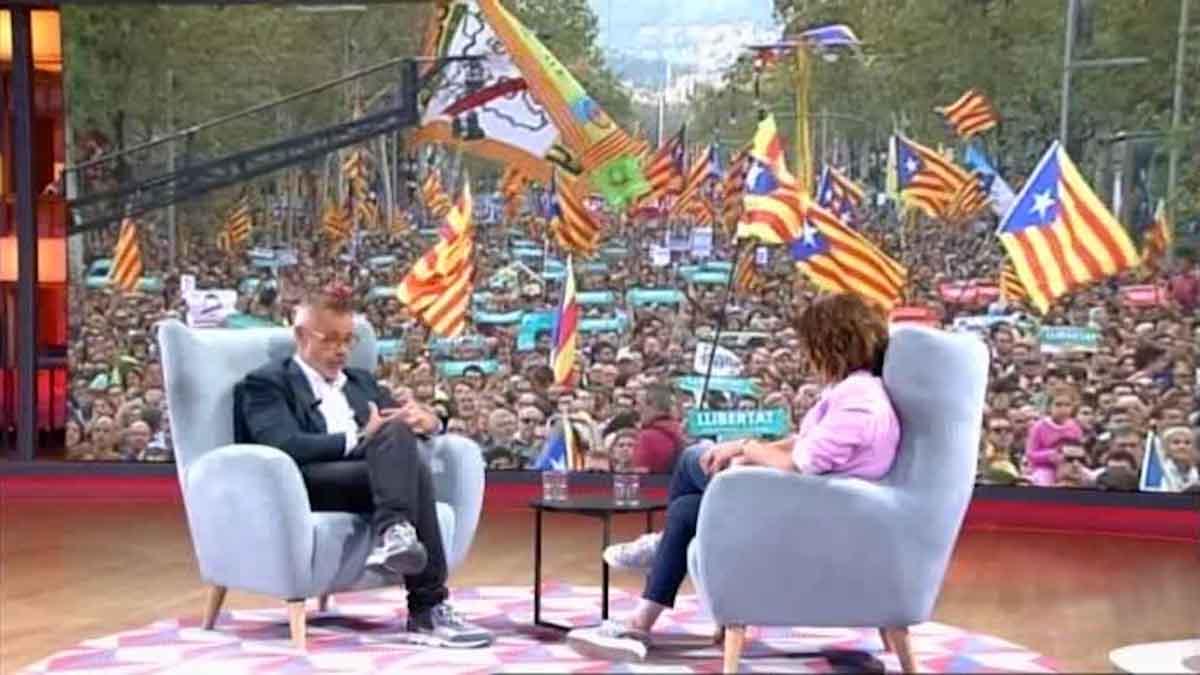 Jordi González reflexionó sobre TV-3 (T-5).