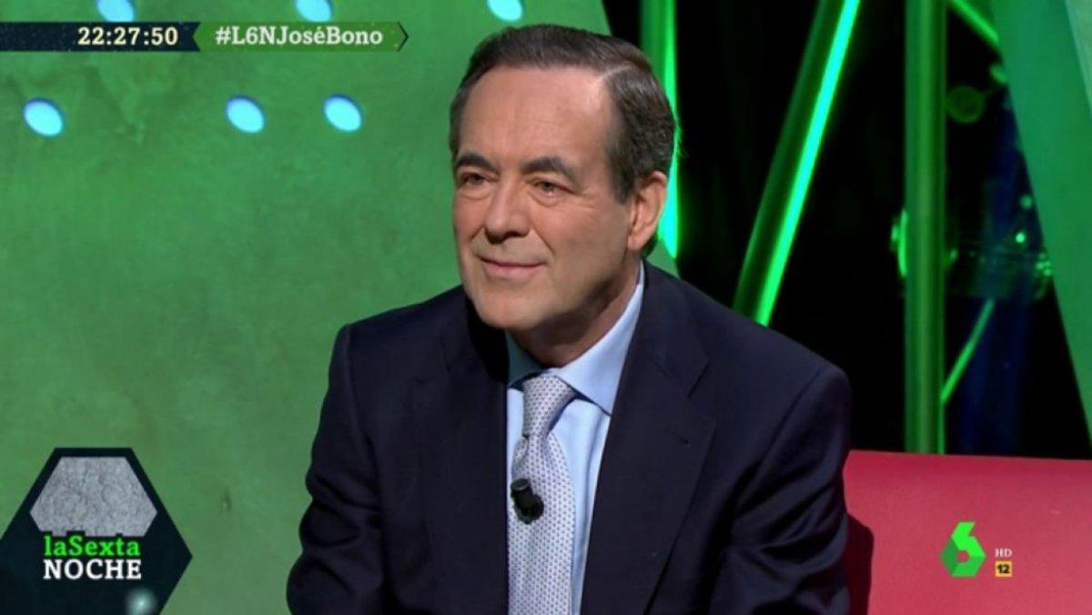 José Bono en 'laSexta noche'.