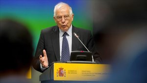 Josep Borrell, ministro de Exteriores en funciones.