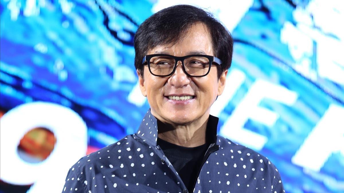 El actor Jackie Chan, esta semana.
