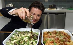 El cocinero británico Jamie Oliver.