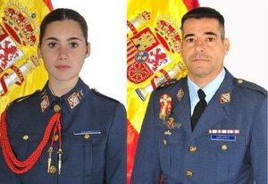 Un instructor del Ejército y su alumna mueren al caer su avioneta en Murcia
