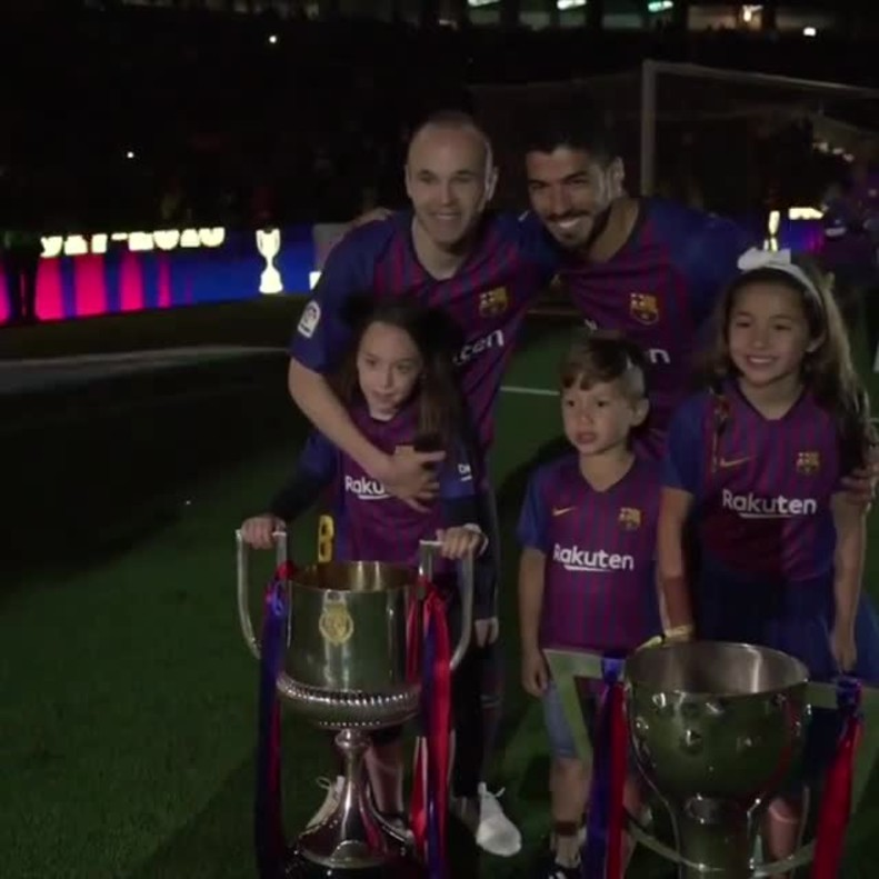 Los hijos de los cracks del Barça.