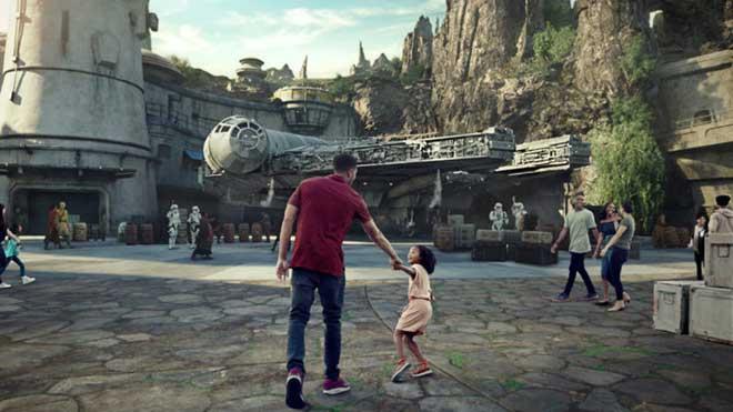 Los parques Disney de Estados Unidos estrenarán en mayo una zona dedicada a Star Wars.
