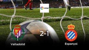 Los tres puntos se quedan en casa: Real Valladolid 2-1 Espanyol