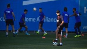 Valverde: «No he volgut llegir l'entrevista de Messi»