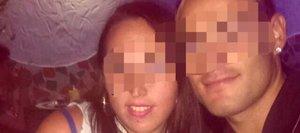El matrimonio detenido publicada en el perfil de Facebook de la madre.