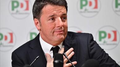 El partido de Renzi se rompe en dos por el apoyo a los indignados