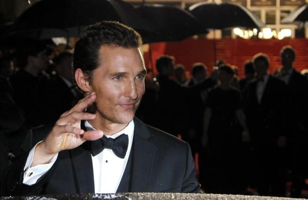Una imagen de archivo del actor Matthew McConaughey.
