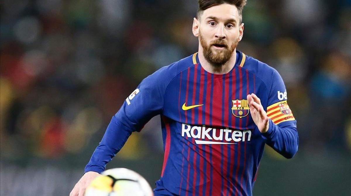 Messi y el resto de la plantilla celebrará una vez más el título de Liga.