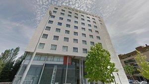 El edificio donde se ubicaban las oficinas donde ejercían su actividad de vendedoras por teléfono las antiguas trabajadoras de Wizweavers.