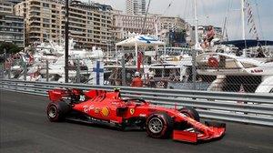 El monegasco Charles Leclerc (Ferrari) corre en casa y espera apretar a Mercedes.