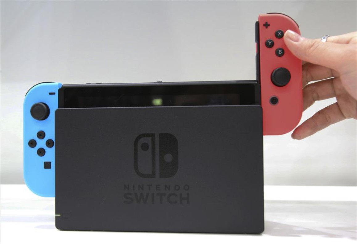 La Nintendo Swtich.
