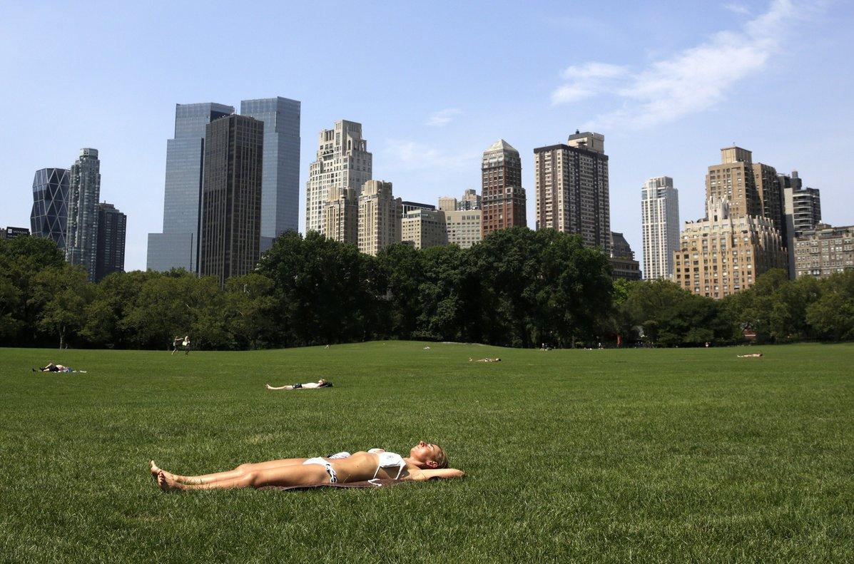 La ola de calor en Nueva York provoca altas temperaturas. EFE