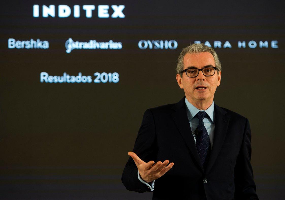 Pablo Isla, presidente de Inditex, explicó durante la presentación de los resultados que el programa de retibución sería diferente