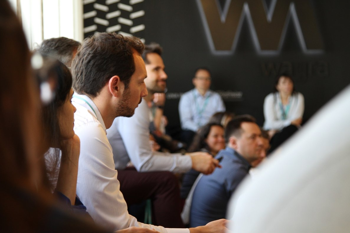 La pasada edición del Co-investment Day de Wayra Barcelona.