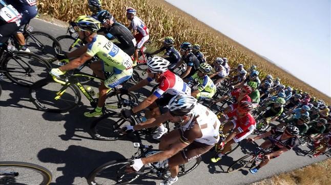 El pelotón de la Vuelta, en su última edición.