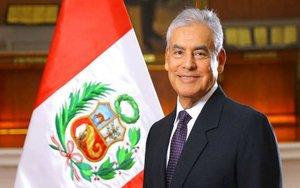 César Villanueva, el exprimer ministro de Perú.