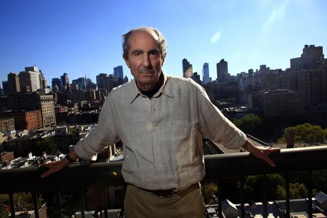 Philip Roth, amb Nova York al fons, en una imatge del 2010.