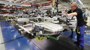 Planta de montaje de automóviles.