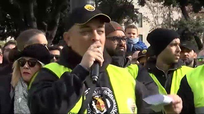 Alberto Tito Álvarez, portavoz del sindicato Élite Taxi, ha anunciado la decisión de retirarse del comité de huelga.