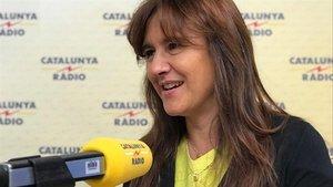 La portavoz de JxCat en el Congreso Laura Borràs, el pasado día 12.