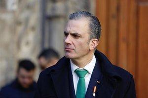 El portavoz de Vox en el Ayuntamiento de Madrid, Ortega Smith.
