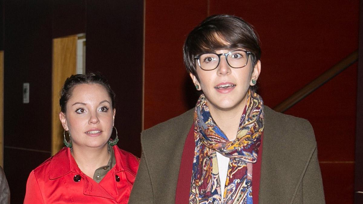 La presidenta de les Corts dAragó, Violeta Barba, critica la presó als polítics elegits democràticament.