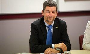 El presidente de la Cambra de Comerç, Joan Canadell.