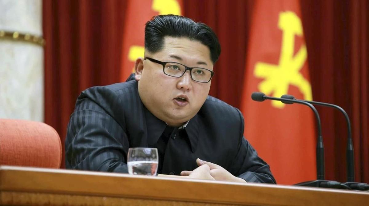 El presidente de Corea del Norte Kim Jong-un.