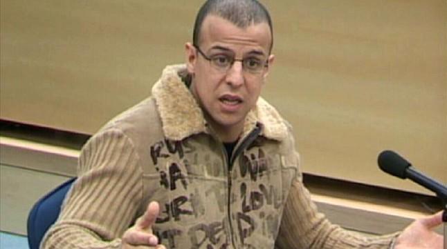 Rafa Zouhier, declarando por el 11-M, en febrero del 2007. AFP