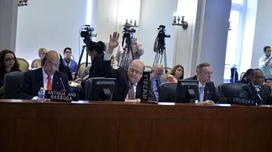 Venezuela anuncia que se va de la OEA