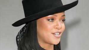 Rihanna posa en la presentación de la FundaciónLouis Vuitton, en París, el pasado 16 de junio.
